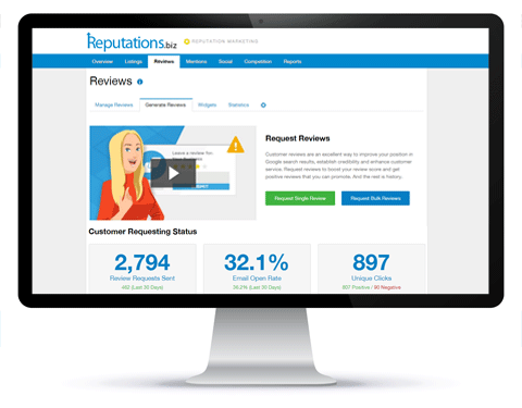 Reputation Marketing - Generate Reviews